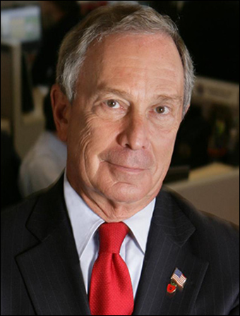 Former New York City mayor Michael Bloomberg co-founded Mayors Against Illegal Guns in 2006 to promote gun control.