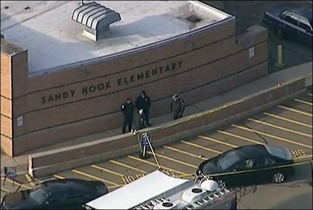 Sandy Hook elementary / Image: Wikimedia Commons