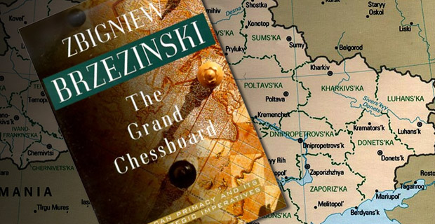 """Ukraine, a new and important space on the Eurasian chessboard, is a geopolitical pivot because its very existence as an independent country helps to transform Russia. Without Ukraine, Russia ceases to be a Eurasian empire."" -- Zbigniew Brzezinski"