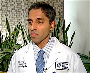 """Sen. Rand Paul: """"The primary policy goals of Dr. Murthy's organization have been focused on advancing stricter gun-control laws."""" Photo of Dr. Vivek Hallegere Murthy courtesy of Pundit From Another Planet blog."""