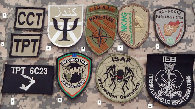 Troops on the Ground: U.S. and NATO Plan PSYOPS Teams in Ukraine badges