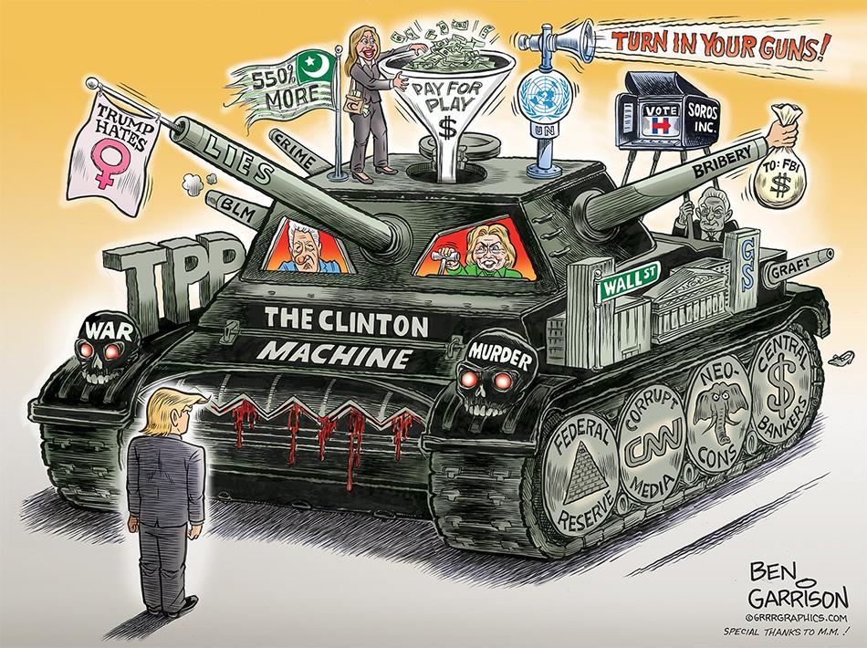 Image result for cartoons fbi investigating clinton foundation