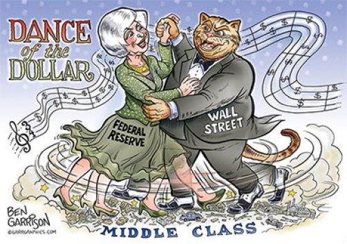 Image result for federal reserve controlled by Wall Street