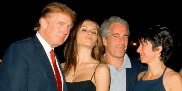 Image result for trump and epstein