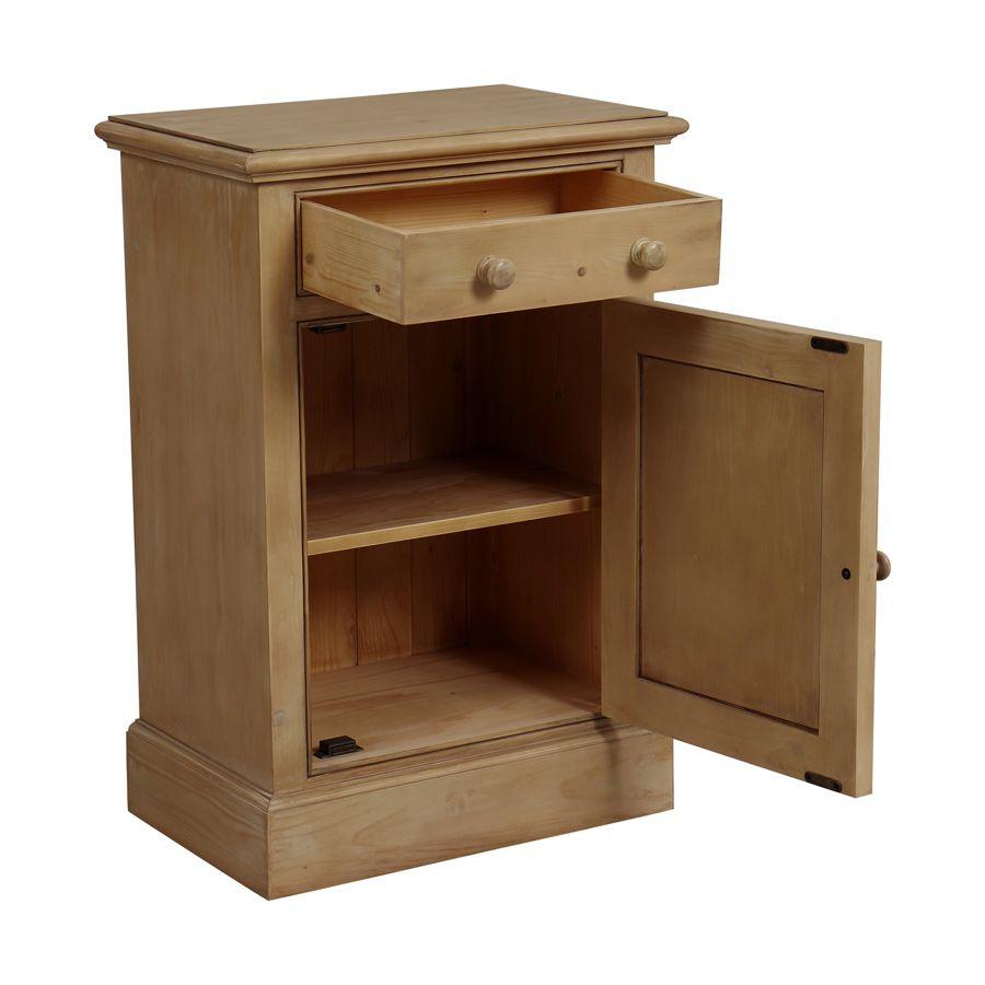 petit meuble de rangement en epicea naturel cendre natural