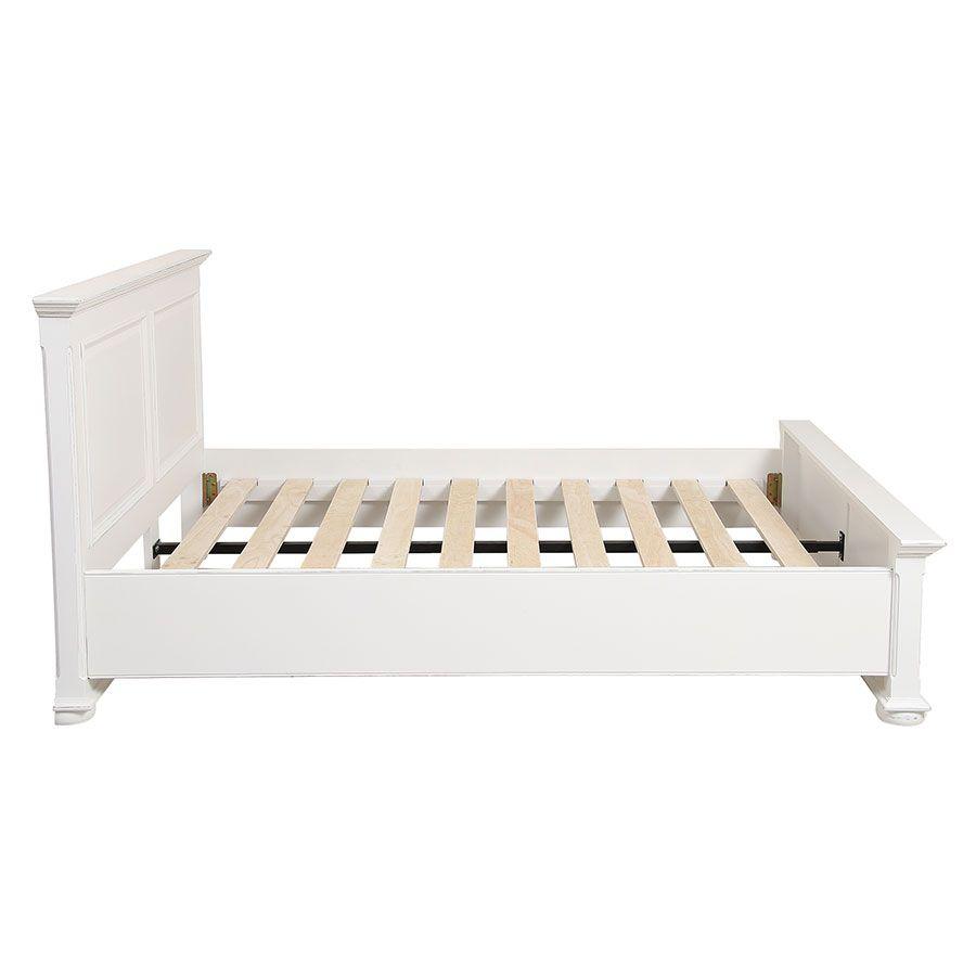 lit 140x190 en bois blanc harmonie