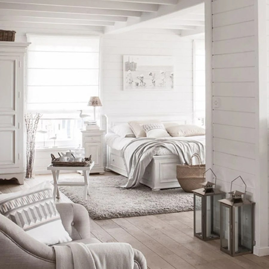 lit 160x200 avec tiroirs en bois blanc satine harmonie