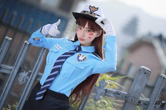 Officer DVa From Overwatch Biryu Inven Global
