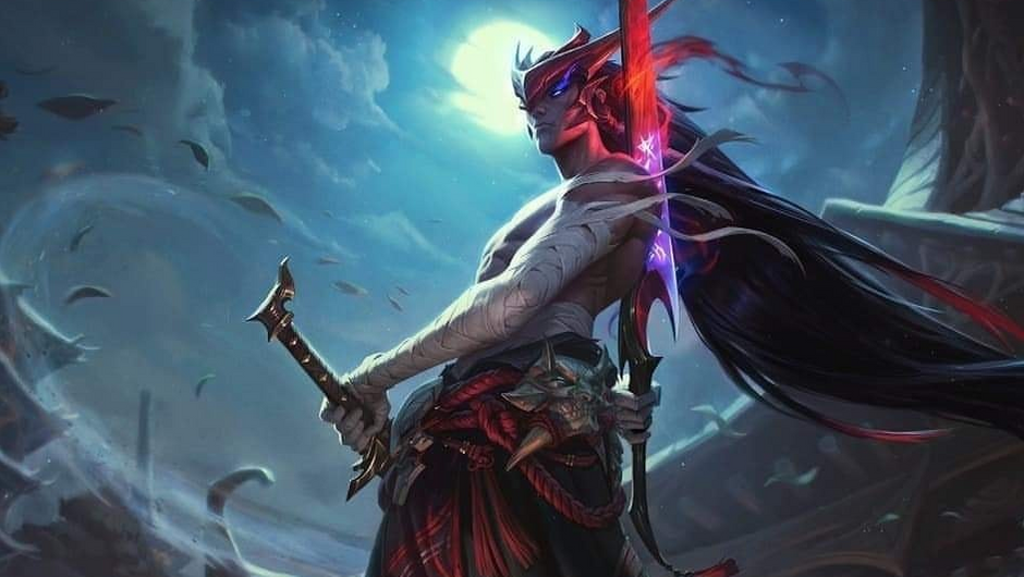 UPDATED 7/15] Splash art for upcoming League of Legends champion Yone has been leaked - Inven Global