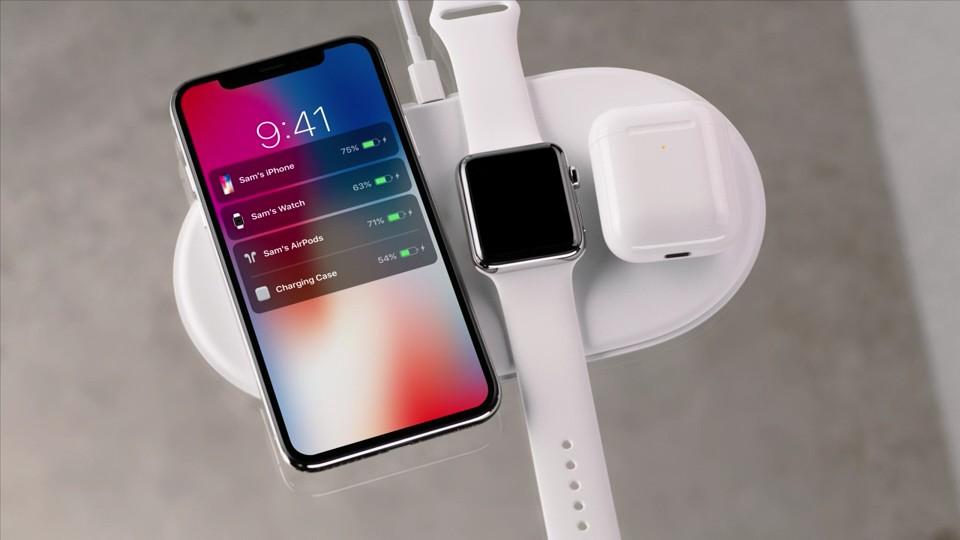 apple iphone 8 8+ plus tv 4k park x rotek air power