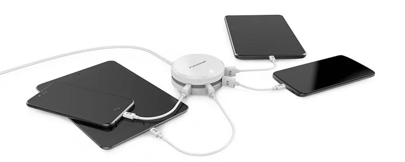 Charge Up to Four Devices with PureGear