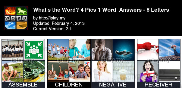 4 pics 1 words answers 8 letters gallery letter format formal sample 8 letter words 4 pics 1 word images letter format formal sample 4 pic 1 word expocarfo Choice Image