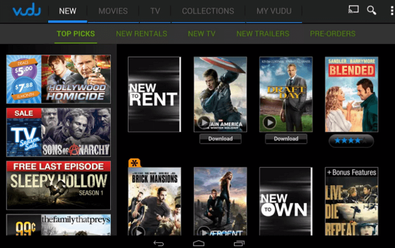 Movie Apps for Android - javatpoint