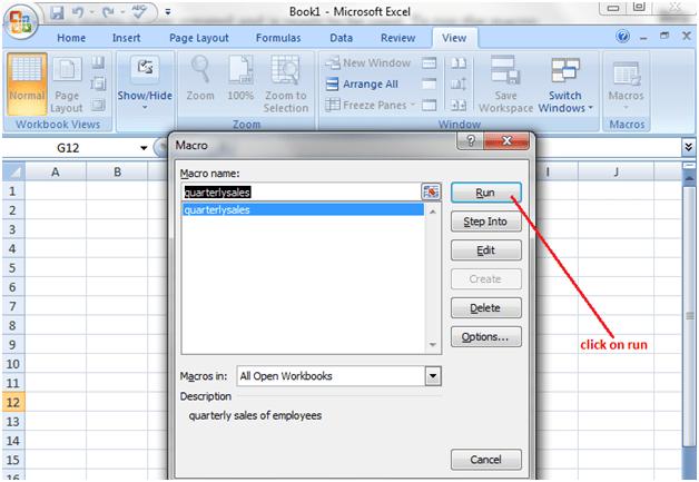 Macros in Excel 4