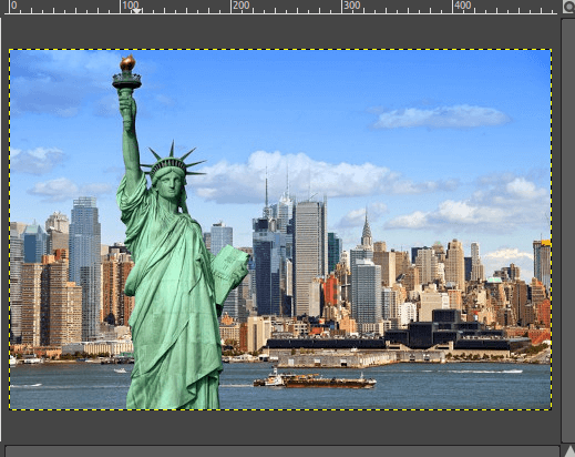 How to Resize Image in GIMP