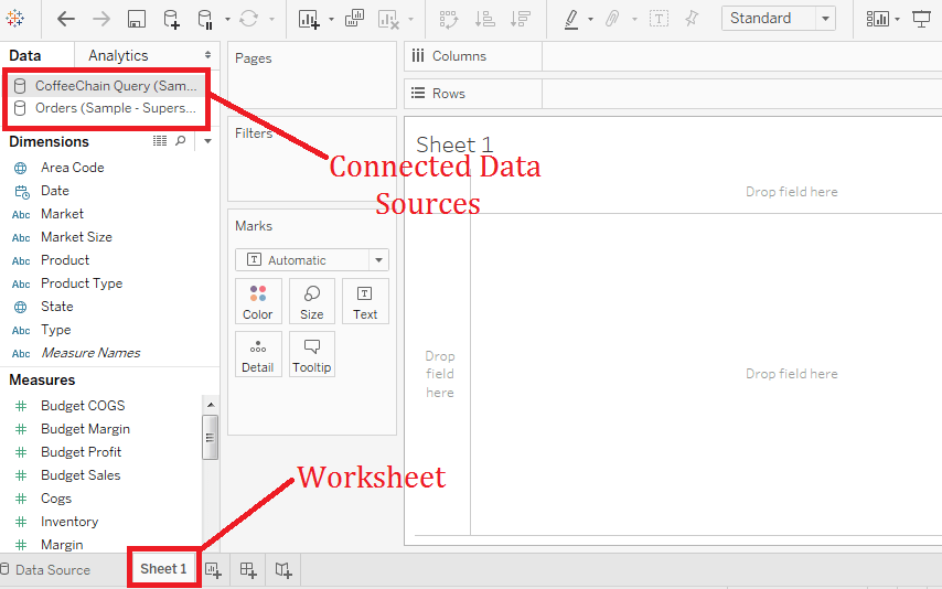 Tableau Replacing Data Source