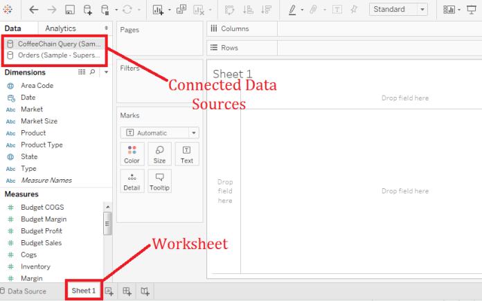 Tableau Replacing Data Source
