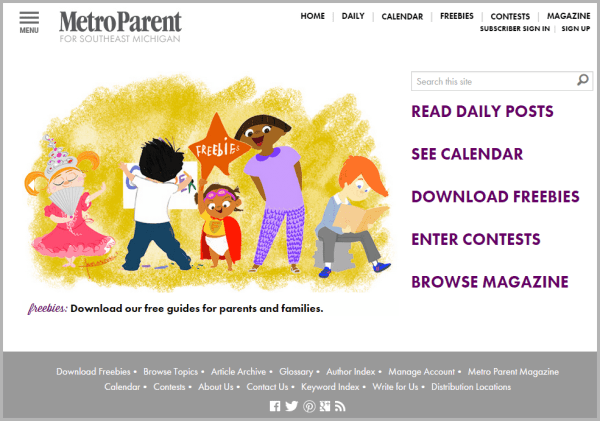 Metro Parent - sites that will pay you