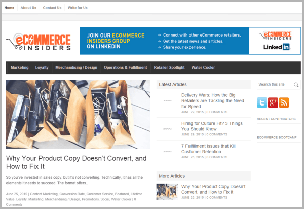 ecommerce insiders sites that will pay you