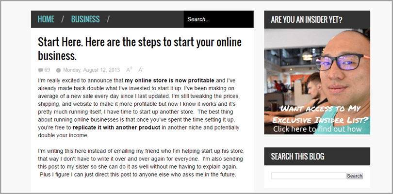 Johnny Jen of Johnny FD for blog monetization strategies