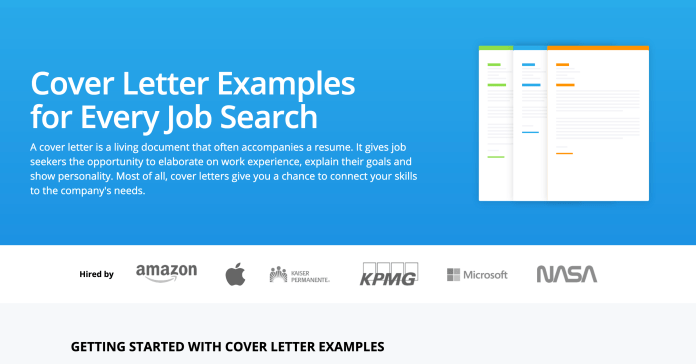 Cover Letter Examples For Every Job Search