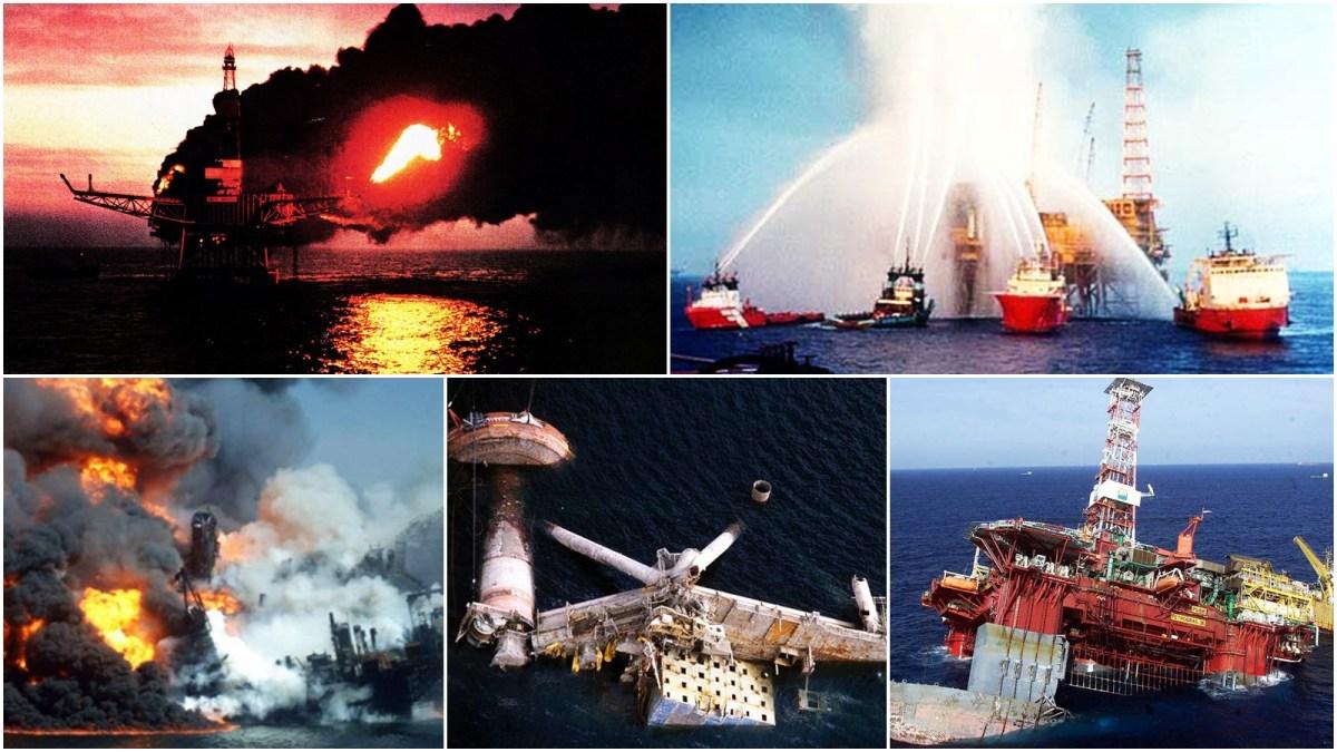 5 Maiores Acidentes com Plataformas de Petróleo