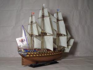 Maquete da embarcação (Foto: snipview.com)
