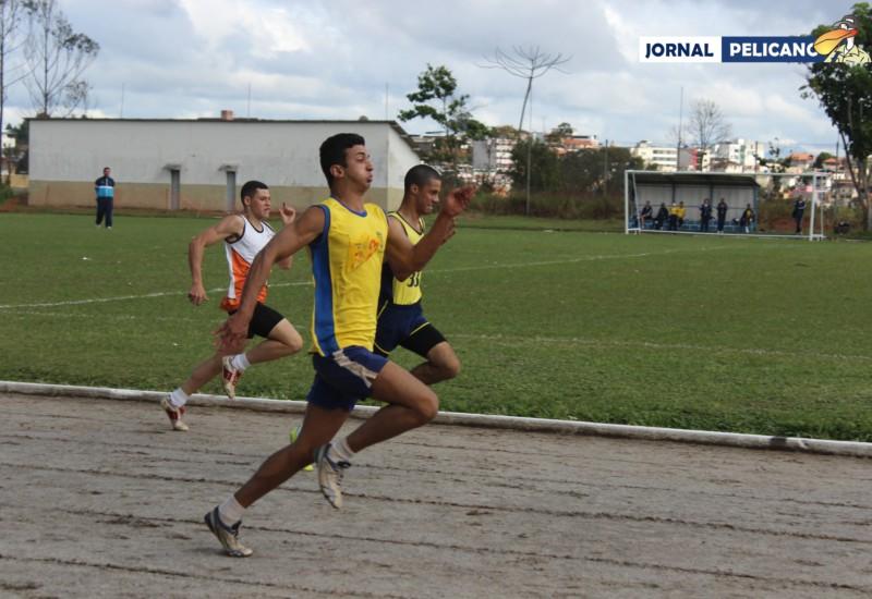 Atletas mostram garra em todas as provas. (Foto: Ricardo Jesus / Jornal Pelicano)