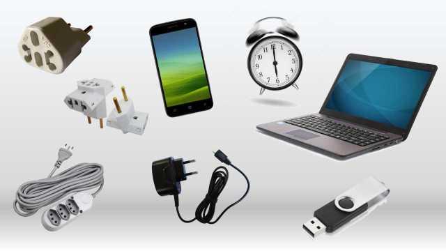 Ilustração de lista de aparelhos recomendados para a praticagem. (Imagem: Jornal Pelicano)