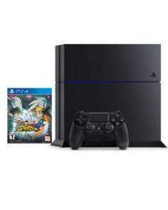 PlayStation 4 - 1TB Edition - Black + Naruto Shippuden: Ultimate Ninja Storm 4
