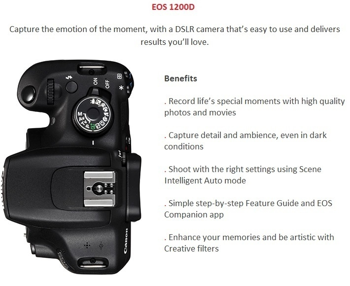 EOS 1200D on Jumia