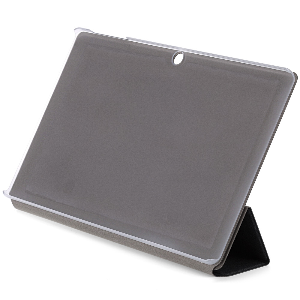 37a88bc73ba28cfedacc50711c4a7ace Chuwi PU Protective Case With Folding Stand Function For CHUWI HiBooK Pro   Gray