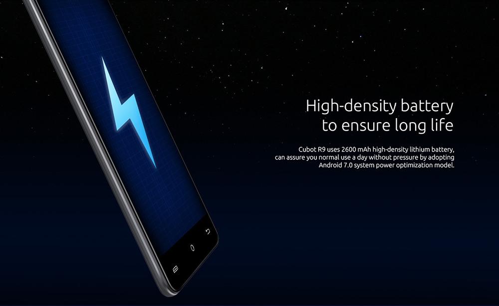 2ab3ca4d34b633122cb15a911ca5aa76 Cubot R9   5 2600mAh With Case 2GB/16GB Fingerprint Android 7.0 EU   Gold