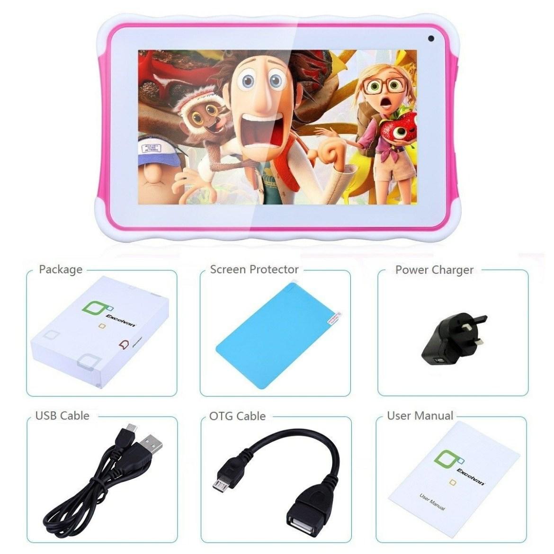 8c7facb5b46b9ef4251e8e99d9c9679d Excelvan 7 Tablet Android 4.4 512MB/8GB G Sensor OTG 2800mAh EU   Red