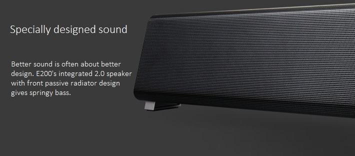 F&D E200 Multimedia Sound Bar Speaker  Black price in Nigeria