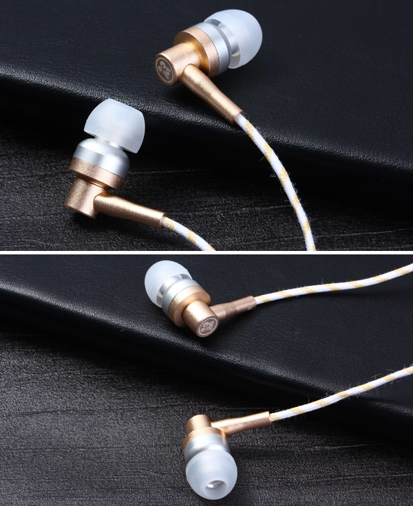 M301 1.2m Cable In-ear Earphone 3.5mm Jack Headphone with Mic for iPhone 6 / 6 Plus Smartphone MP3 MP4 Laptops