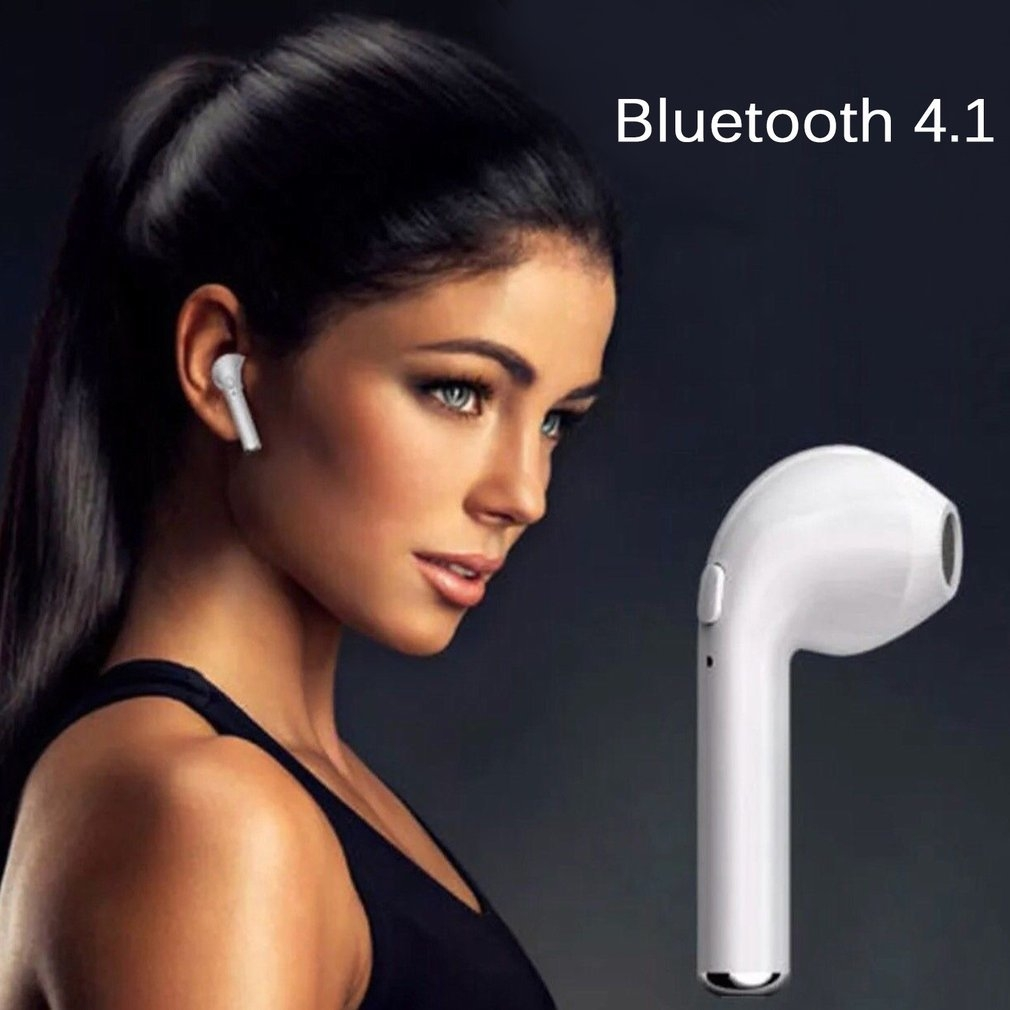 afb2f4efbc9dfdc36ea0bf48b7e491c1 Generic HP TWS I7 Earbuds Wireless Bluetooth Earphones Stereo Music For Mobile Phone White