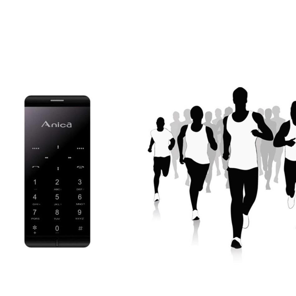Amica Ultrathin Metal A7 Dual SIM Mobile Phone -Pink