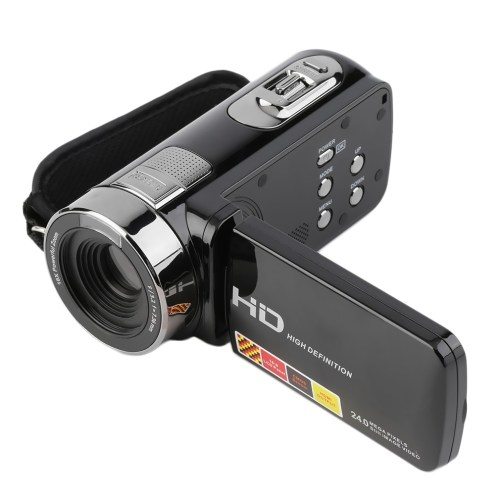 Generic 3.0 Inch FHD 1080P 16X Optical Zoom 24MP Digital Video Camera Camcorder DV (Black) price in Nigeria