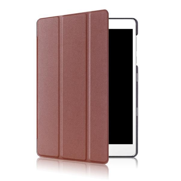 27741d840bbba72fbcc286bc63e238a1 Generic Ipad/tablet Case Ultra Leather Stand Case Cover For Asus Zenpad 3S 10 Z500M Tablet 9.7 inch BW( Brown)