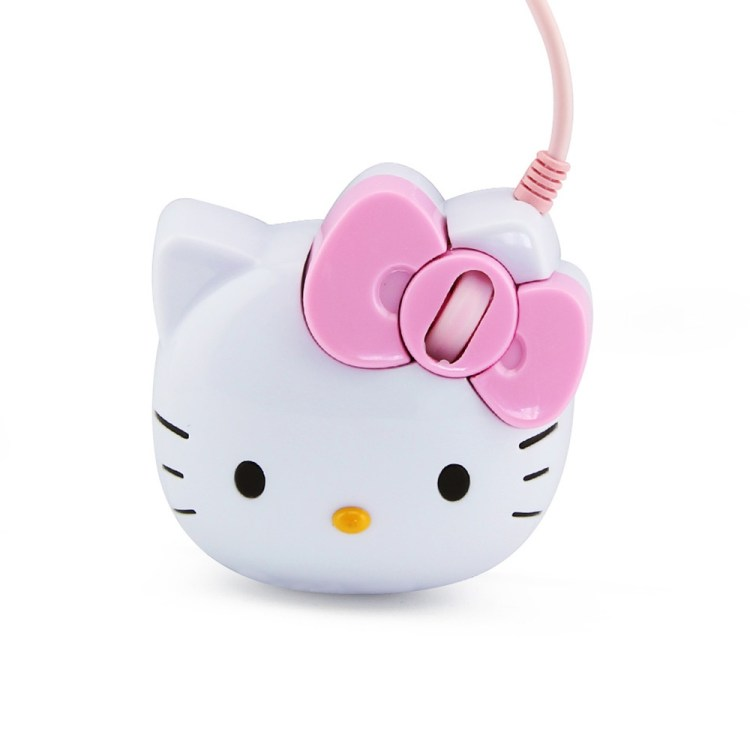 Generic Hot Sale Design Kitty Wired Optical Mouse Pink Hello Kitty Gaming Mouse Mause For Girl Gift Laptop Notebook Computer Mice Mouse(White) price on jumia Nigeria via specspricereview.com