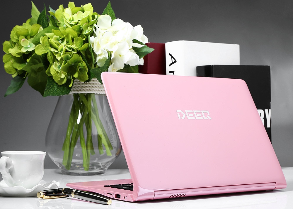 bf265dbadd687195d773f732e9af13fd DEEQ A116 Quad Core 1.33GHz (2GB,32GB SSD) 11.6 Inch Windows 10 Notebook   Pink
