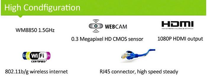 35b983b90b8592b94e0f6a13f6deed9a Generic 1088A Android 4.4 Netbook With 10.1 Inch WSVGA WM8880 Dual Core 1.5GHz 1GB 8GB WIFI Camera SILVER