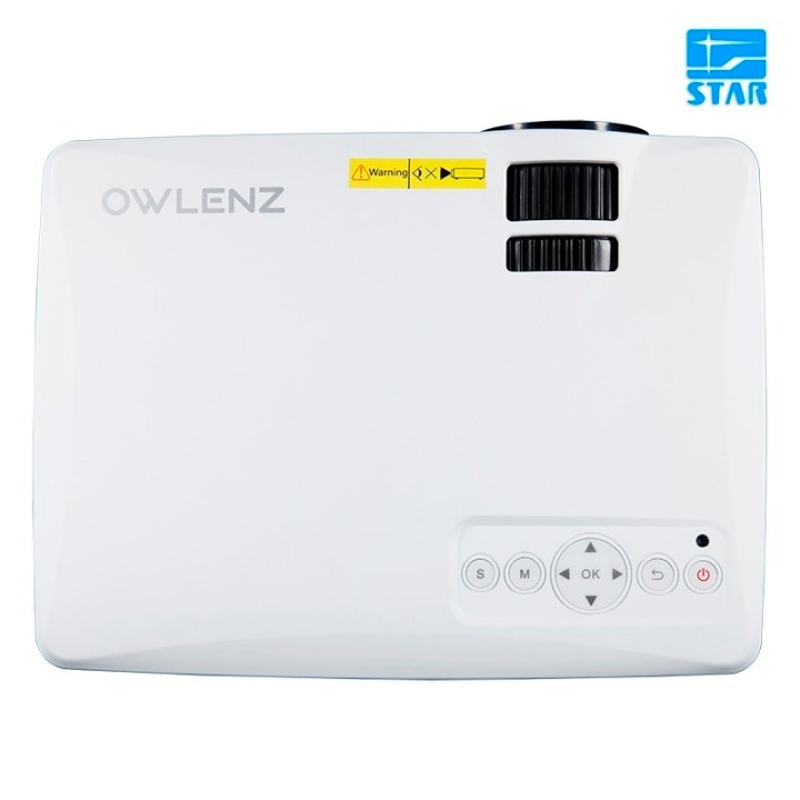 Generic Owlenz SD50 Plus Multimedia Portable Mini LED Projector 800*480 Home Theater PC USB HDMI AV VGA SD For Home Cinema price in Nigeria