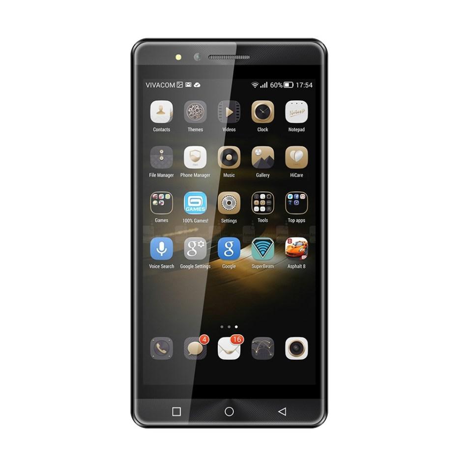 DUAI O6 MT6572 Dual Core 1.2Ghz Processor 5 Inch QHD IPS LCD 960*540 Smart Phone-black