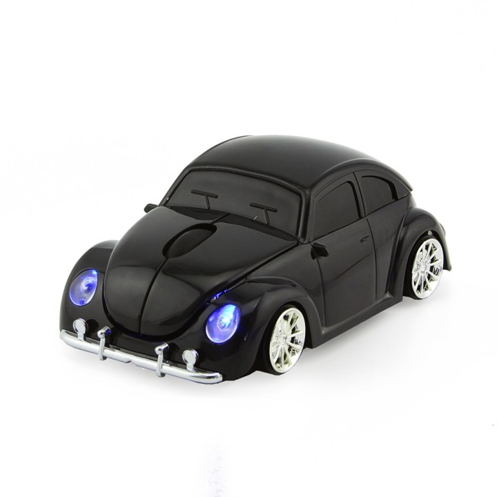 Generic D Xmas USB Optical Wireless Mouse VW Beetle Car Shape Gaming Mouse Beetle Mause For PC Laptop Computer Mice(Red) price in Nigeria