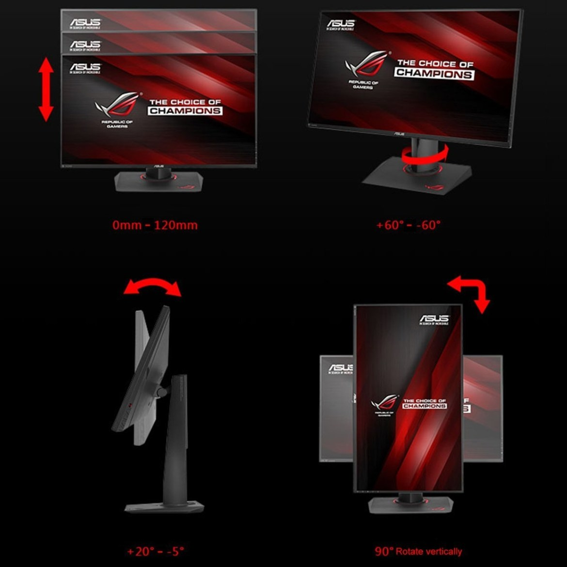 5f65752f3a59cfd312003c230dbd1a49 Generic UJ PG279Q 27 Monitor G SYNC Eye Care Gaming With DP And HDMI Ports Black