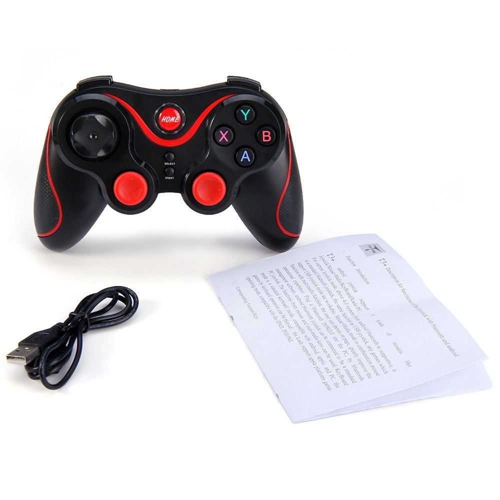 f01240bffb88729a1d55df278888fd24 Generic S3   Wireless Bluetooth 3.0 Gamepad Joystick For Android Smartphone   Black