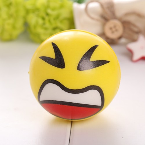 ad1628ceb9fba507615583d027bcacd8 Generic Smiley Ball Smiley Stress Ball Smiley Squeeze Ball Anti Autism Squeeze Toys Random Hand Wrist Exercise