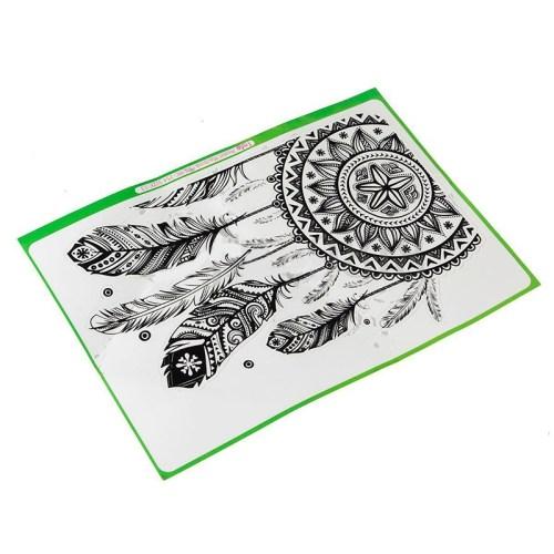 29c4b06cff14b32d86cf03290354755b Generic Retro Feather Pattern Vinyl Decal Sticker For Macbook Air Retina Laptop